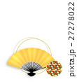 和柄 和 和風のイラスト 27278022