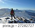 天狗岳 冬 雪山の写真 27282727