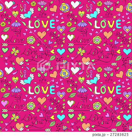 Colorful seamless patternのイラスト素材 [27283625] - PIXTA