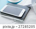 ビジネスアイテム 手帳 スマートフォンの写真 27285205