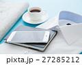 ビジネス 手帳 コーヒーの写真 27285212