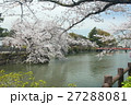 お堀とソメイヨシノ 27288081