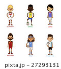 サッカー ユニフォーム ユーロのイラスト 27293131