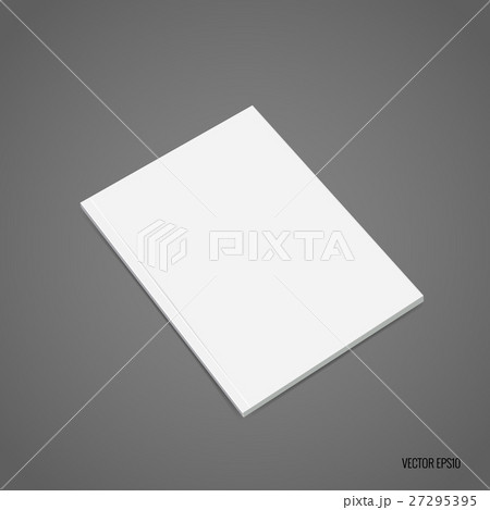 Blank catalog, magazines,book mock up. Vector illustration 27295395