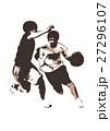 バスケットボール 27296107
