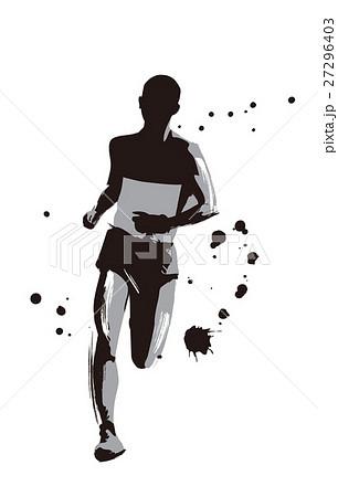 マラソンランナーのイラスト素材 27296403 Pixta