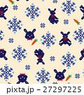 ウサギのノルディック柄 27297225