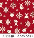ウサギのノルディック柄 27297231