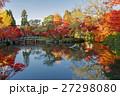 永観堂 紅葉 景色の写真 27298080