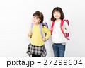 子供 ランドセル 小学生の写真 27299604