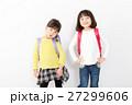 子供 ランドセル 小学生の写真 27299606