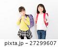 子供 ランドセル 小学生の写真 27299607