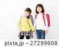 ランドセル 小学生 女の子の写真 27299608