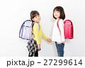 ランドセル 小学生 女の子の写真 27299614