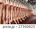 Chopped pig at a factory 27300625