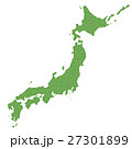日本 地図 日本列島のイラスト 27301899