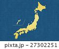日本地図 日本 日本列島のイラスト 27302251