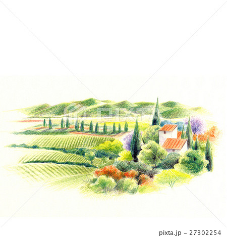南ヨーロッパの風景・農村 27302254