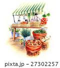 南ヨーロッパの風景・野菜マルシェ 27302257
