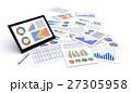 グラフ チャート データのイラスト 27305958