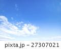 青空 空 雲の写真 27307021