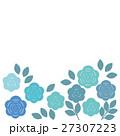 薔薇 花 葉のイラスト 27307223