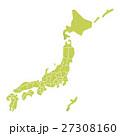日本 日本地図 日本列島のイラスト 27308160