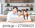 パソコン 子供 父親の写真 27308425