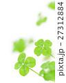 四つ葉のクローバー 四つ葉 よつばの写真 27312884