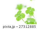 四つ葉のクローバー 四つ葉 よつばの写真 27312885