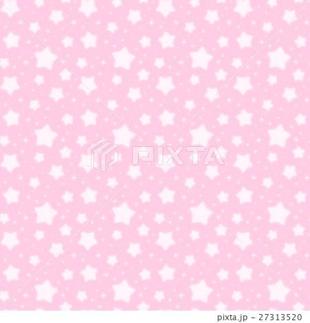 ファンシーでかわいい 星とキラキラの幻想的なパステルカラーシームレスパターン ピンク 27313520