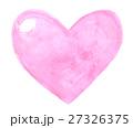 ハート ピンク 水彩 27326375