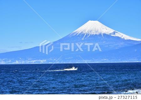 西伊豆戸田美浜岬からの富士山.2 27327115