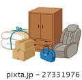 遺品 遺品整理 粗大ゴミのイラスト 27331976