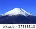 冬晴れの富士山 27333313