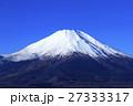 冬晴れの富士山 27333317