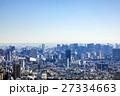 現代都市の空撮 27334663