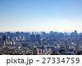 現代都市の空撮 27334759