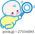 赤ちゃん ベクター 人物のイラスト 27334893