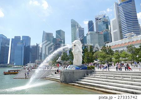 シンガポール マーライオン 27335742