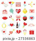 バレンタイン アイコン バレンタインデーのイラスト 27336863