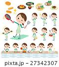 school girl Green Blazer cooking 27342307