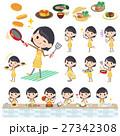 school girl Brown Blazer cooking 27342308