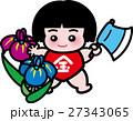 金太郎 端午の節句 五月人形のイラスト 27343065
