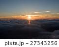 蝶ヶ岳山頂 日の出 27343256