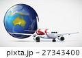 飛行機 航空 飛ぶのイラスト 27343400