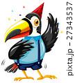 オオハシ科 シロムネオオハシ 鳥のイラスト 27343537