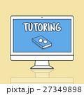 コンピュータ パソコン 教育のイラスト 27349898