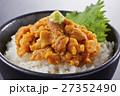 ウニ丼 ウニ 丼の写真 27352490