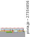 駅のホーム【フラット人間・シリーズ】 27354856
